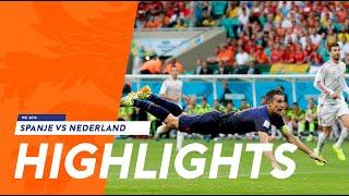Samenvatting Spanje-Nederland 1-5 WK 2014