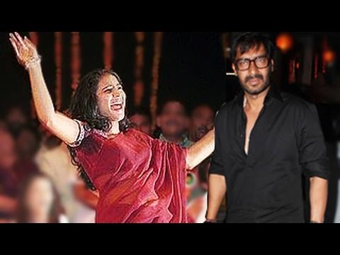 Kajol gets DRUNK at Ajay Devgans Singham Returns Movie success...