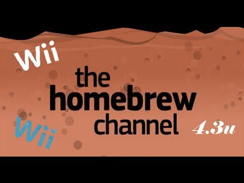 tutorial poner homebrew channel en wii 4.3u sin disco