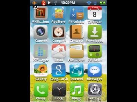 iDroid v1.2.2 On Samsung Galaxy Mini S5570.mp4