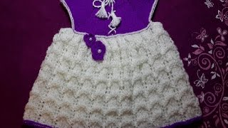 1-Платье  спицами \Dress for girls (knit crochet) Stricken (Hobby)