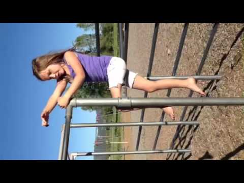 Kate On The Monkey Bars video