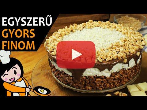 Kinder Country torta - Recept Videók