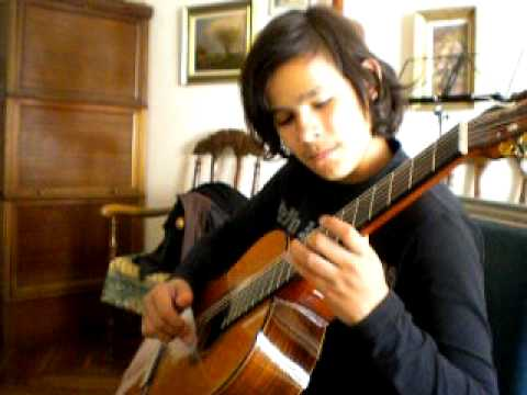 Rosita - polka for guitar by tarrega