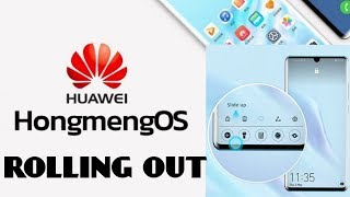 Huawei's Android replacement OS HONGMENG will start rolling out