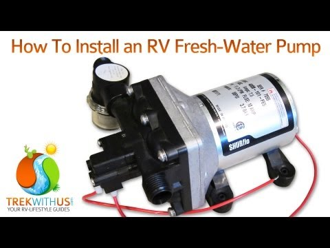 How to Install a SHURflo Fresh Water Pump - RV DIY
