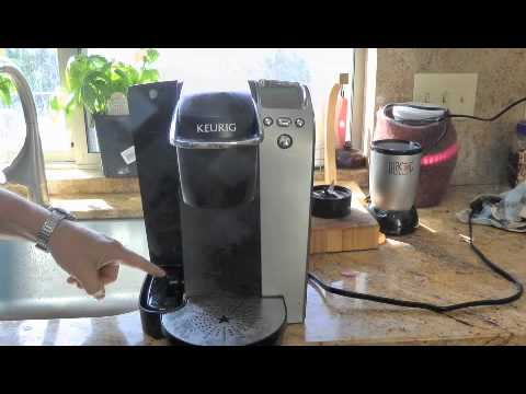 Keurig Coffee Maker Brewing Slowly : Keurig B77 Flush Repair How To Save Money And Do It Yourself!
