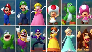 Mario Party 10 - All Playable Characters
