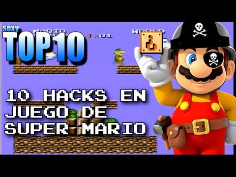 10 hacks en juegos de super mario | Sexy TOP 10