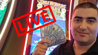 $6,000 Max Bet Live STREAM Slot Play W/NG From Las Vegas RED ROCK Casino