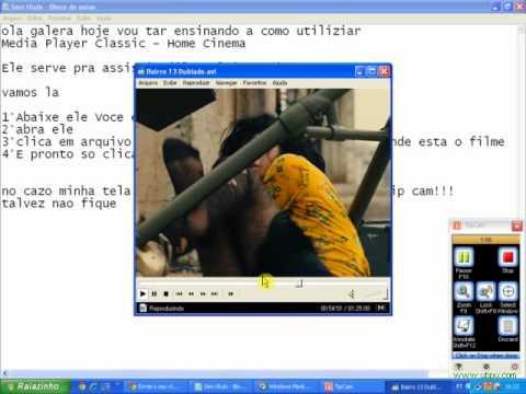 Como assistir filme no programa Media Player Classic - Home Cinema.FLV