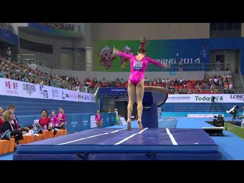 2014 World Gymnastics Championships - U.S. Women's Qualifying - Full Broadcast