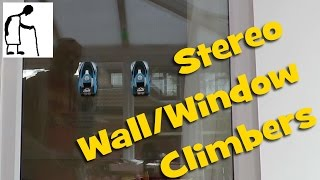 Stereo Wall Window climbers - rather noisy