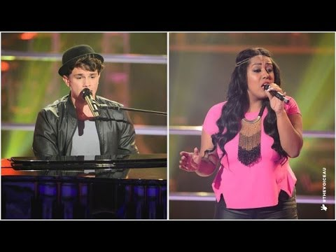 Mat Verevis Vs Soli Tesema: Ordinary People | The Voice Australia 2014 video
