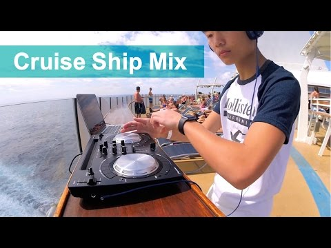 DJ Migz' Mix on a CRUISE SHIP! - Pioneer DDJ WeGo3