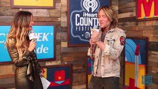 Download Lagu Amy Interviews Keith Urban at our iHeart Country Festival 2018 Gratis STAFABAND