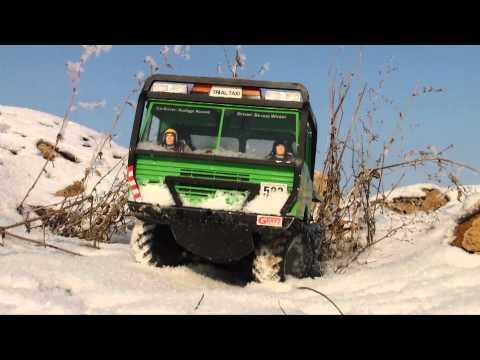 RC TATRA 813 GREEN MONSTER On Snow