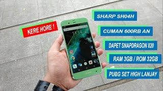 Review Sharp Aquos SH04H - Spek Gila Cuman 600RB An Gan!.