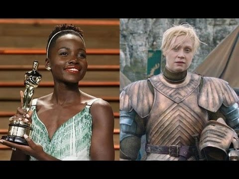 AMC Movie Talk - STAR WARS Casts Lupita Nyong'o and Gwendoline Christie