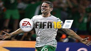 FIFA 16 | Robbie Brady Goal Vs Italy