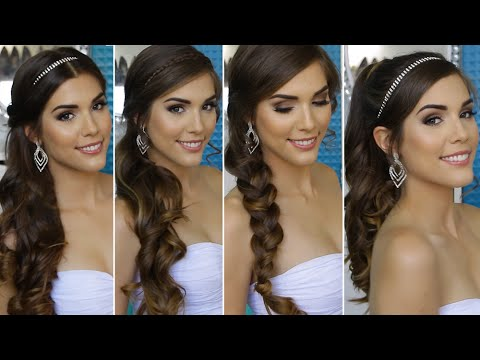 4 quick and easy homecoming hairstyles hair tutorial