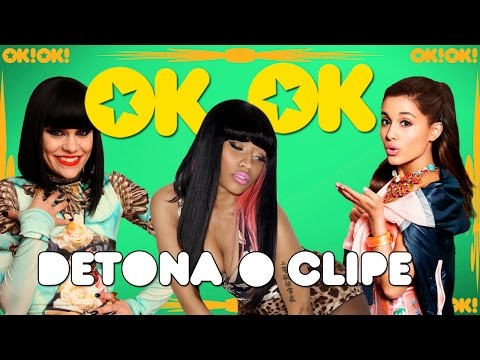 O ratatatá de Ariana Grande, Jessie J e Nicki Minaj |OK!OK! DETONA O CLIPE