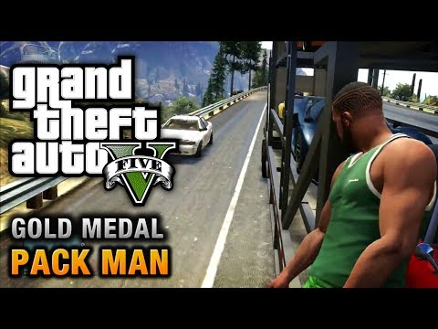 GTA 5 - Mission #58 - Pack Man [100% Gold Medal Walkthrough]