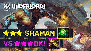 INFINITE CHICKEN FARM! ★★★ Shadow Shaman Refresher Is OP! | Dota Underlords