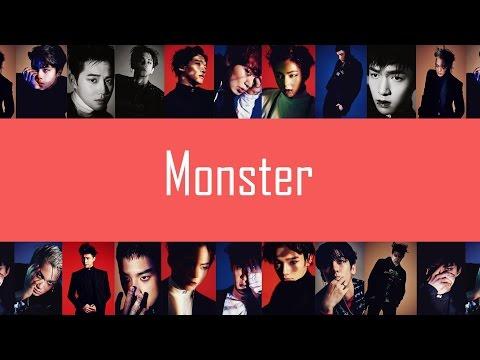 EXO - Monster (EASY Lyrics)