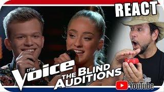 Download Lagu The Voice 2018 - Blind Audition - Britton Buchanan & Brynn Cartelli Gratis STAFABAND