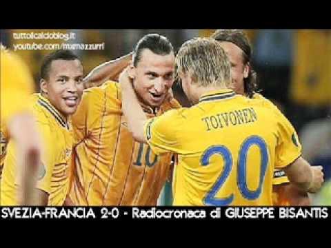 SVEZIA-FRANCIA 2-0 – Radiocronaca di Giuseppe Bisantis – EURO 2012 su Radiouno RAI