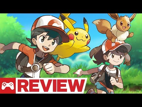 Pokemon: Let's Go. Pikachu and Eevee Review