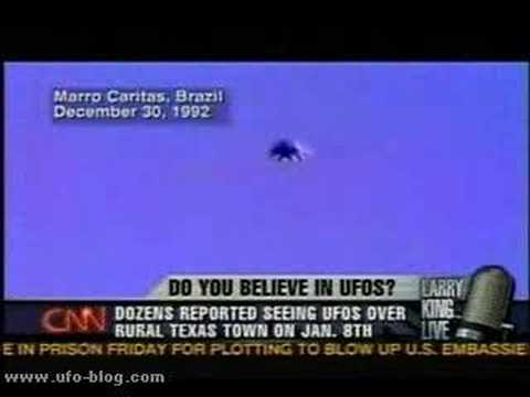 CNN News -- Stephenville, Texas UFO Reports, Larry King Clip