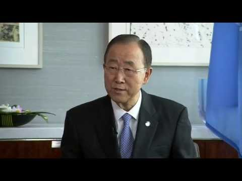Ban Ki-moon (UN Secretary-General) on the refugee and migrant crisis in the Mediterranean and Europe