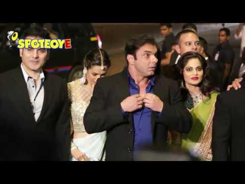 Malaika Arora Khan and Seema Khan arrive for the EID celebrations at Salman Khan's house   SpotboyE