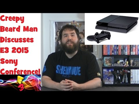 Sony's Playstation 4 E3 2015 Conference - My Thoughts - Adam Koralik