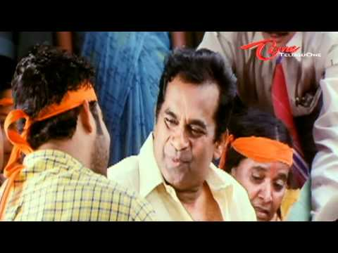 Pavala Shyamala Irriatates Brahmanandam - Telugu Comedy video