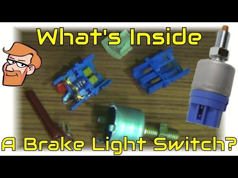 How a Brake Light Switch Works • Cars Simplified