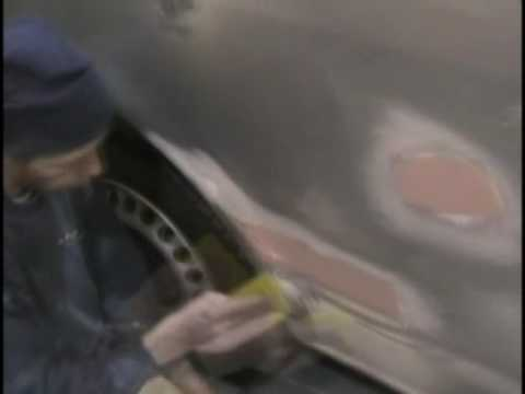 Auto Body Filler Application