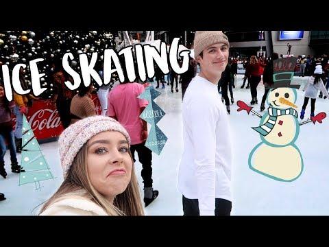 ICE SKATING! VLOGMAS DAY 2!