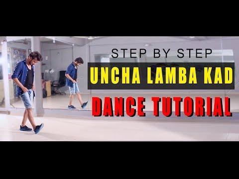 Dance Tutorial Uncha Lamba Kad | Step By Step | Bollywood Hiphop | Vicky Patel Choreography