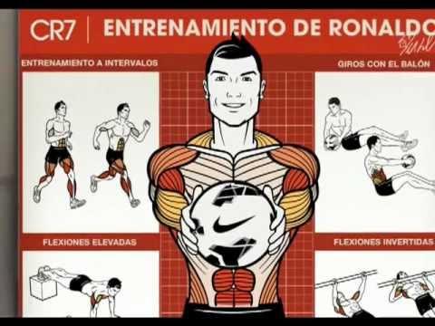 CR7 Entrenamiento de Cristiano Ronaldo CR7