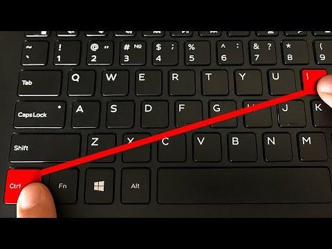 16 Hidden Combinations on Your Keyboard