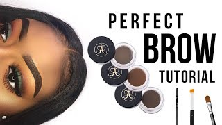 PERFECT BROW TUTORIAL | QUICK & EASY