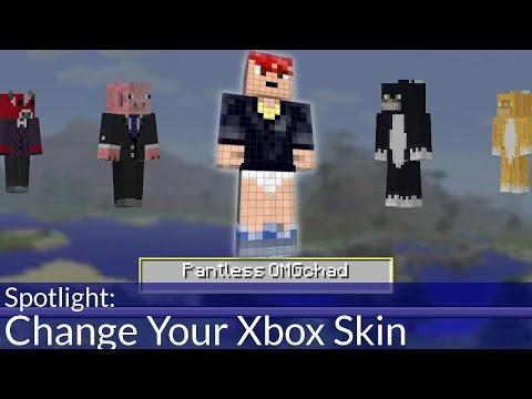 Change Your Xbox Minecraft Skin