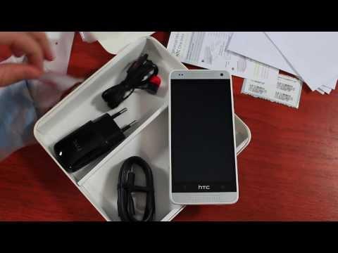 HTC One mini Распаковка