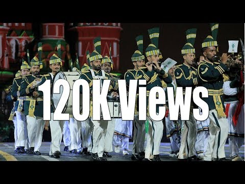 Pakistan Army Music Band Performing In Moscow, Russia video
