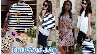 *GIVEAWAY* PoshCase July 2018 |12 Full sized Products | TheTake it Easy Edition | Discount Code