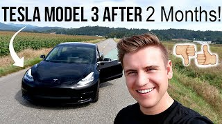TESLA MODEL 3 THOUGHTS AFTER 6,000 Miles (2 Months of Ownership!)