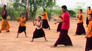 Taksham Monastery - Taekwondo